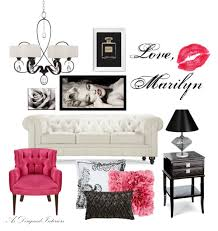 Marilyn Monroe Living Room Decor Hollywood Glam Living Room Ideas As Designed Interiors
