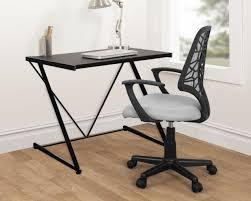 Desks small spaces White 1 Zshaped Writing Desk Hgtvcom 12 Tiny Desks For Tiny Home Offices Hgtvs Decorating Design