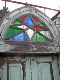 Original Bogen Holzfenster Gitter Tür Holztor Fenstergitter