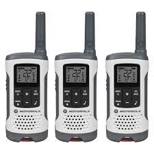 motorola 7550e. motorola t260tp two-way radio (white, 3-pack) 7550e