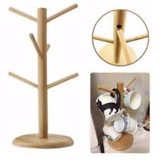 Tea Set Display Stand For Sale 100pc Set Cream Metal Kitchen Roll Mug Tree Coffee Pod Holder Stand 36