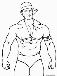 Small Picture Wwe John Cena Printable Coloring Pages Coloring Pages Ideas