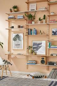 Accessories: Outer Corner Wood Wall Shelves - Wall Shelves
