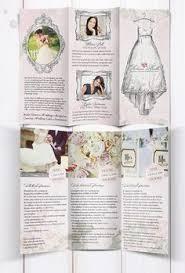 10 Best Wedding Leaflet Ideas Images Wedding Stationery Brochure