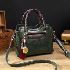 <b>Vintage Retro</b> Genuine Leather <b>Women Shoulder Bags</b> Famous ...
