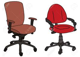 office chair drawing. Plain Chair 1300x918 Hand Drawing Of Two Office Chairs Royalty Free Cliparts Vectors With Chair E