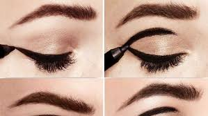 step by step tutorial to get vine eye makeup from the 60 s blushy