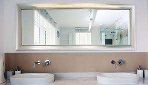 Bathroom Mirror Vanity Mirror Custom Size Custom Framed