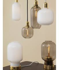 Amp Pendant Small Whitebrass Normann Copenhagen