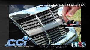 2012 Cadillac Srx Fog Lights Chrome Grille Overlay For 2010 2012 Cadillac Srx