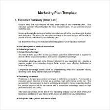 Advertising Plan Pdf 9 Advertising And Marketing Business Plan Examples Pdf