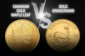 Canadian Gold Maple Leaf Vs Gold Krugerrand U S Money