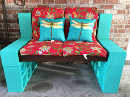 Decorative Cinder Block Bench Outdoor Couch Diy Idea Sports