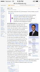 Edited Page Ajit Pai Wikipedia Chapotraphouse The For Somebody So Pnxq57fn