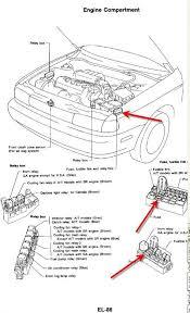 1994 nissan sentra fuse box diagram 1992 Nissan Sentra Fuse Box Nissan Sentra Spec V