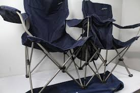 maccabee side by side twin pop up chairs