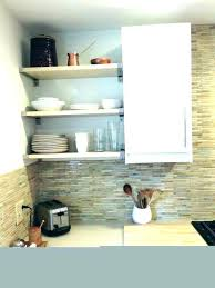 wall shelf with metal brackets round metal woo wood