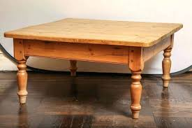 turned legs coffee table large size of pine square coffee table design extra large turned legs