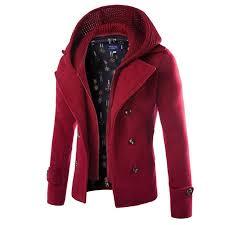 new fashion jacket men wool coat double ted jpg