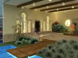 Indoor Garden Indoor Garden And Pool Touch Of Class Interiors
