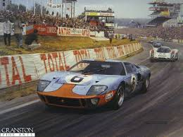 turner painting car painting ford gt40 car drawings car posters automotive art auto racing race cars vintage cars