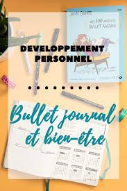 Développement Personnel Bullet Journal Et Bien être