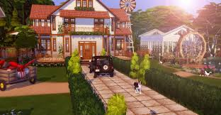 Seasons Family Farm at Lily Sims » Sims 4 Updates