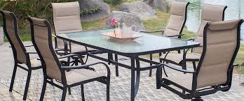 aluminum patio dining set