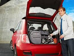 fiat 500 interior trunk. 2012 fiat 500 trunk storage manufacturer interior u0027the junk in my trunku0027 pinterest fiat and cars