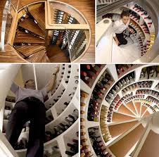 spiral wine cellar an underground cellar for special wines