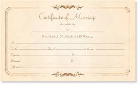 fake marriage certificate online marriage certificate template write your own certificate