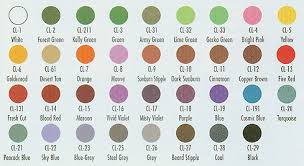 Ben Nye Color Chart Ben Nyes Creme Colors