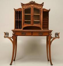 Art Nouveau Style Furniture is Characterized by Natural Forms and