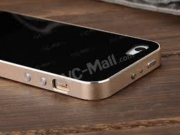 iphone 5s black gold. luphie for iphone 5s 5 aluminum bumper + tempered glass back board - black / gold iphone