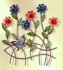 outdoor metal flowers outdoor metal flower wall art fascinating gorgeous metal garden flowers outdoor decor metal