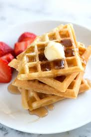 Light Fluffy Waffles Light And Crispy Waffles