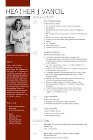 Non Profit Resume Samples Visualcv Resume Samples Database