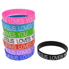Jesus Is The Light Wristbands Details About 50x Jesus Loves You Silicone Wristbands Rubber Plain Reusable Event Charity Band