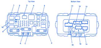 carfusebox com 04 CRV Fender Flare Accessory honda crv 2005 under the hood fuse box block circuit breaker diagram