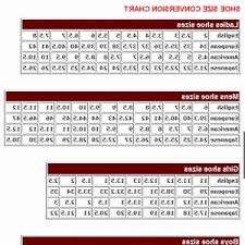 Huk Size Chart Attractive Mens To Womens Shoe Size Conversion Chart New Huk