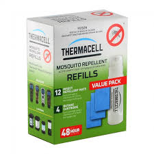 THERMACELL Outdoor Area Mosquito Repellent Refill Pack R-4 1