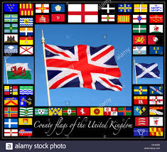 English County Flags Chart County Of Shropshire Stock Photos County Of Shropshire