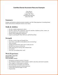 cover letter advertising dental assistant resume example certified dental assistant resume dental assistant cover letter templates