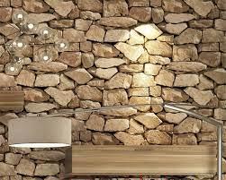 Beibehang Vintage 3d Brick Wallpaper ...