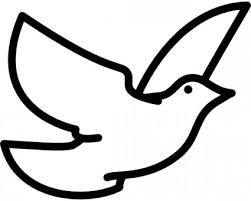 空飛ぶ鳩クリップアート ベクター クリップ アート 無料ベクター
