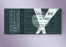 Movie Ticket Invitation Template With Movie Ticket Invitation ...