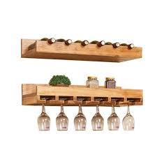 solid wood wine rack wine bottle
