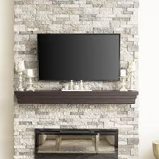 fake rock wall panels for stone fireplace within faux stacked comfy with regard to 7