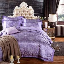 cover sets purple bedrooms retro bed