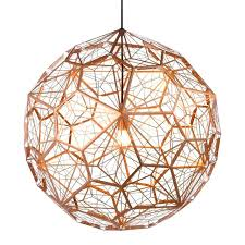 copper ceiling light century rise fall